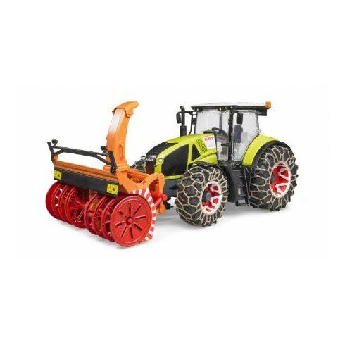 Bruder Claas Axion 950 traktor hómaróval - KP JÁTÉK