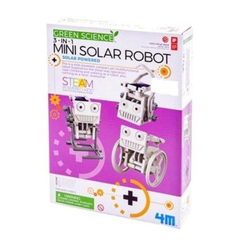 4M 3 az 1-ben napelemes robot készlet - KP JÁTÉK