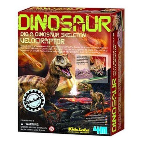 4M dinoszaurusz régész készlet - Velociraptor - KP JÁTÉK